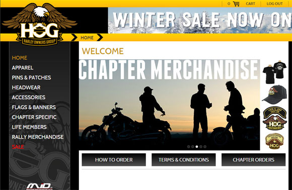 Harley Owners Group Chapter Merchandise